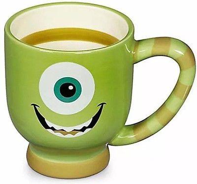DISNEY PARKS AUTHENTIC COFFEE MUG 20 oz MIKE WAZOWSKI MONSTERS, INC CERAMIC
