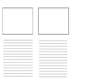 Blank Brochure Template For Student Projects  Blank Brochure Templates