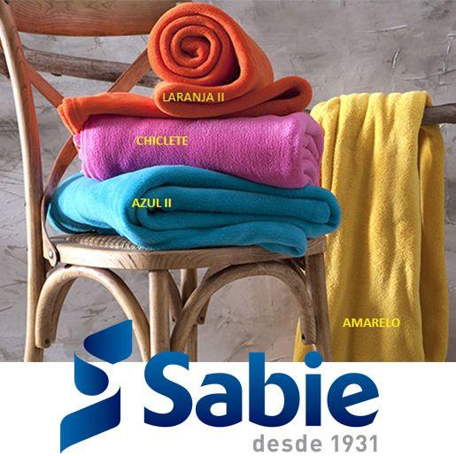 Mais opções de cores do nosso cobertor Sierra! Venha conferir! sac@sabie.com.br 11 2069-3500