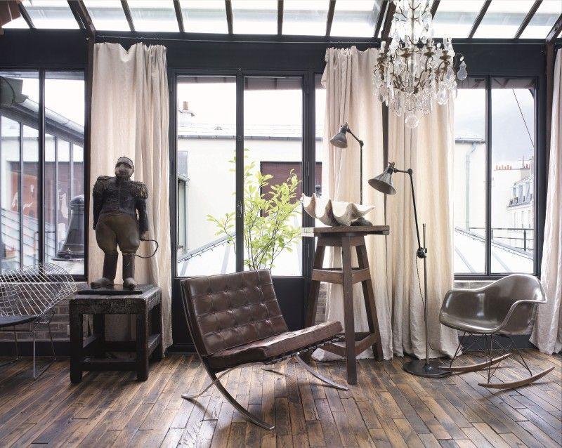 Industrie-Chic im Wohnzimmer das ist kein Widerspruch, sondern - industrial chic wohnzimmer