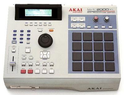 Akai Mpc 2000xl Akai Drum Machine Drum Pad