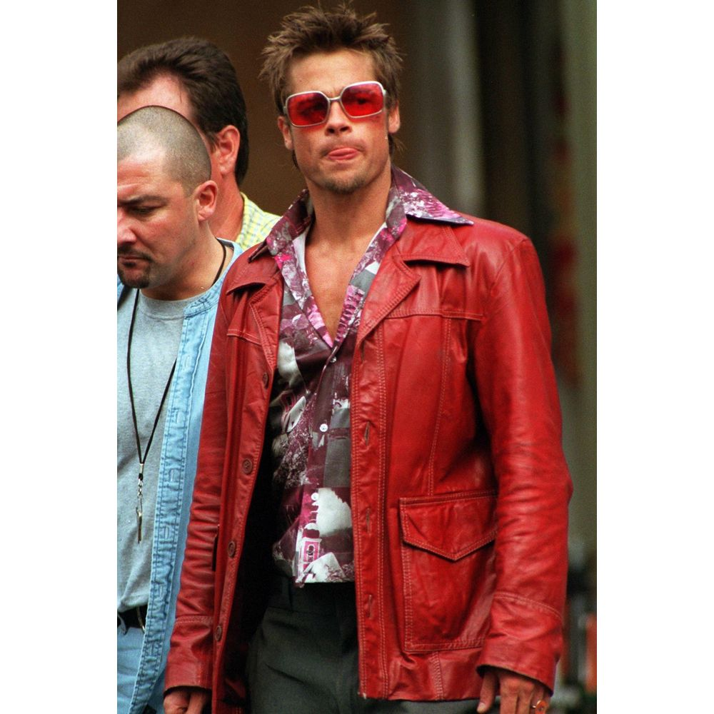 Tyler Durden Costume - Fight Club | Real leather jacket