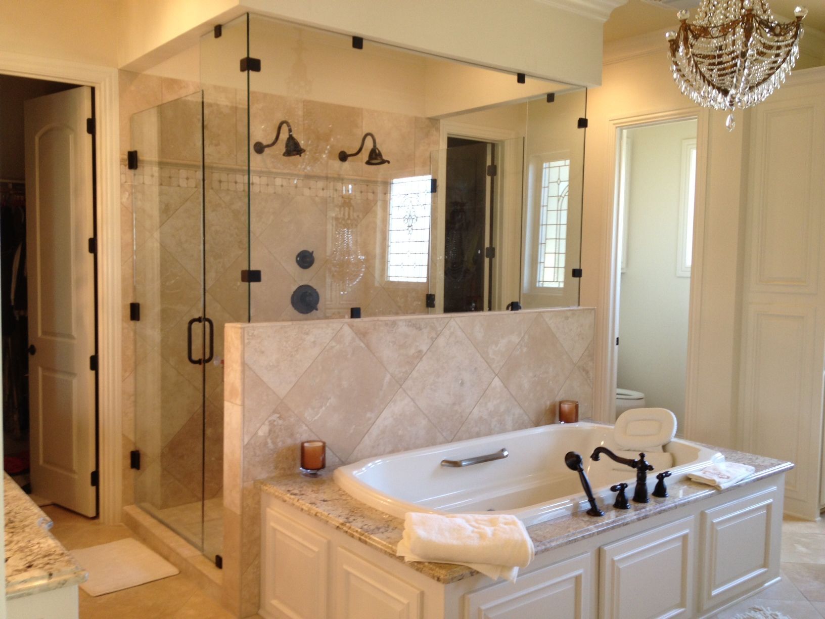 Madden Home Design - Plantation Master Bath Custom