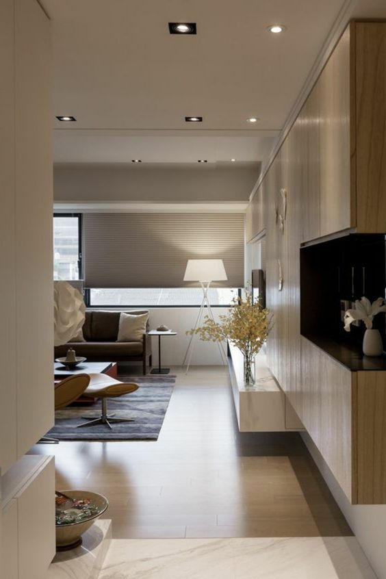 ▷ 1001+ Idées pour aménager une chambre en longueur + des solutions - couleur chaude pour une chambre