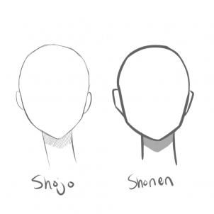 Anime Step By Step Drawing Head How To Draw Manga Heads Step By Step Anime Heads Anime Draw Anime Head Manga Drawing Drawings