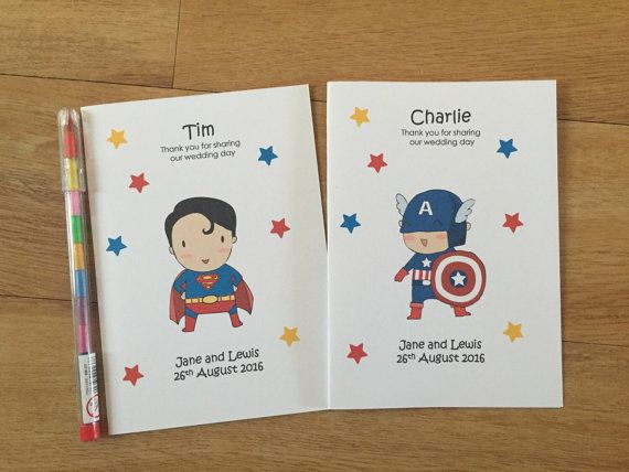 A6  Superhero Marvel Inspired Childrens by DesignsbyDaisyandMax