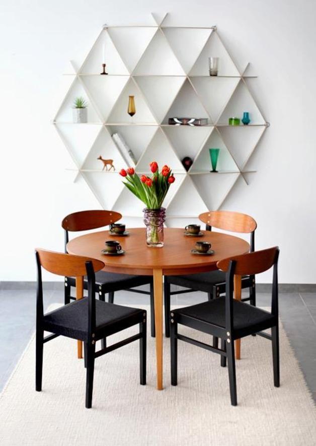 Minimalistic design shelves for modern interiors– bookshelf COMB small, geometrical, white, contemporary, minimal home design, hand made – a unique product by BorealisByJaanusOrgusaar via en.dawanda.com