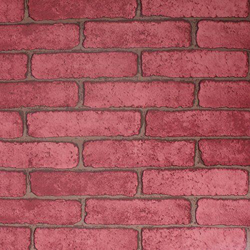 Amazon Com Sicohome Brick Wallpaper Self Adhesive Wallpaper Removable No Residual Easy To Put Up A Brick Wallpaper House Red Brick Wallpaper Bar Wall Decor