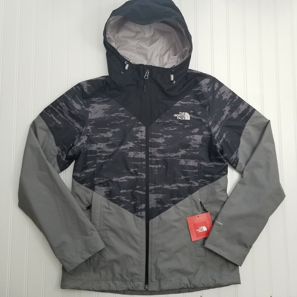 04bd9d5e4 ON SALE! The North Face Women's Aryi jacket Grey/Black Size Raincoat ...