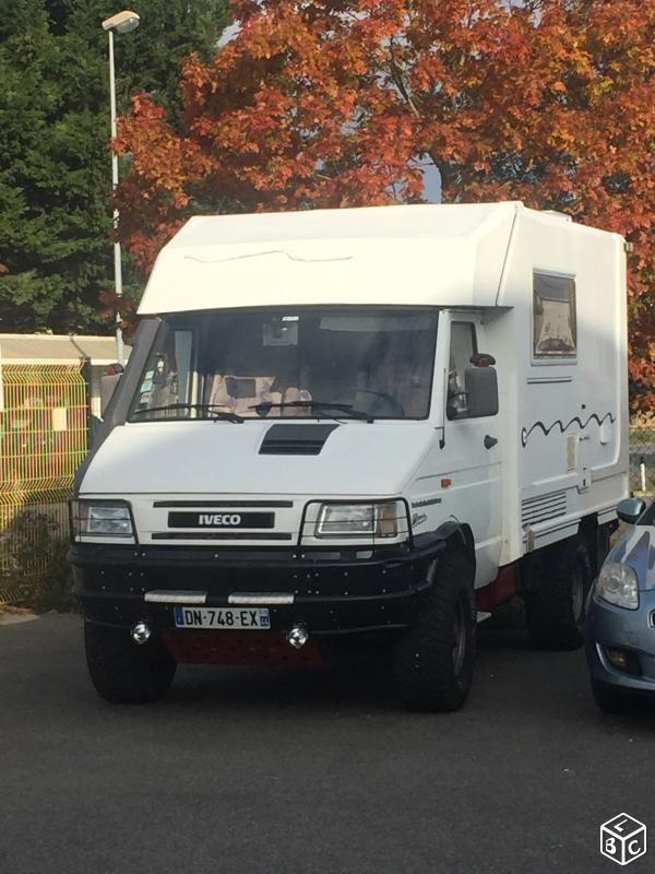 Iveco 4x4 Camping Car Caravaning Loire Atlantique Leboncoin Fr Volkswagen Transporter Camping Camping Car