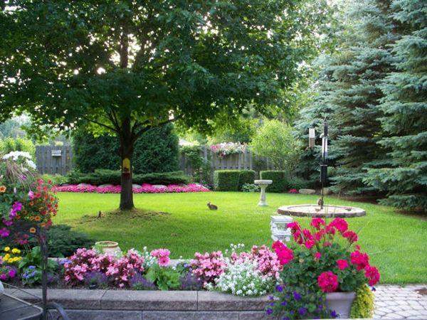 Moderne Gärten – 30 Bilder und Tipps für Landschaftsbau - grasfläche ...