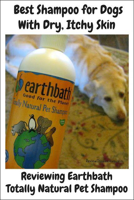 Reviewing Earthbath Totally Natural Pet Shampoo Natural Pet