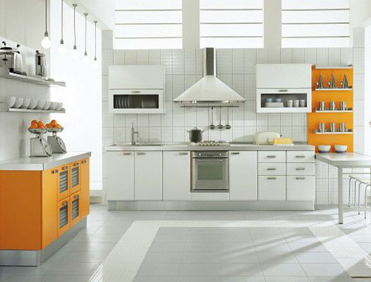 Open Shelves On Kitchen organizing  maintenance  home
