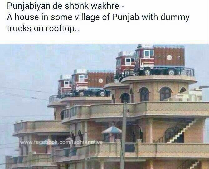 Awesome India · Punjabi Culture · Embedded Image Permalink Truck House, Bollywood, House  Design, Trucks, Jokes, Udta