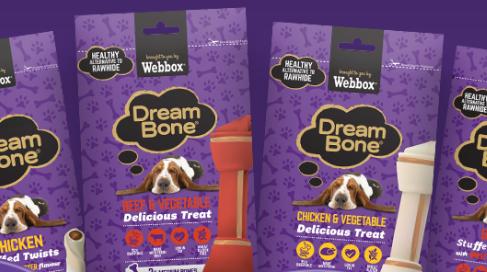 Free Dreambone dog chew (UK) Dog chews, Yummy treats