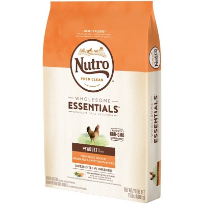 Nutro Wholesome Essentials Small Breed Adult Chicken Rice Dry