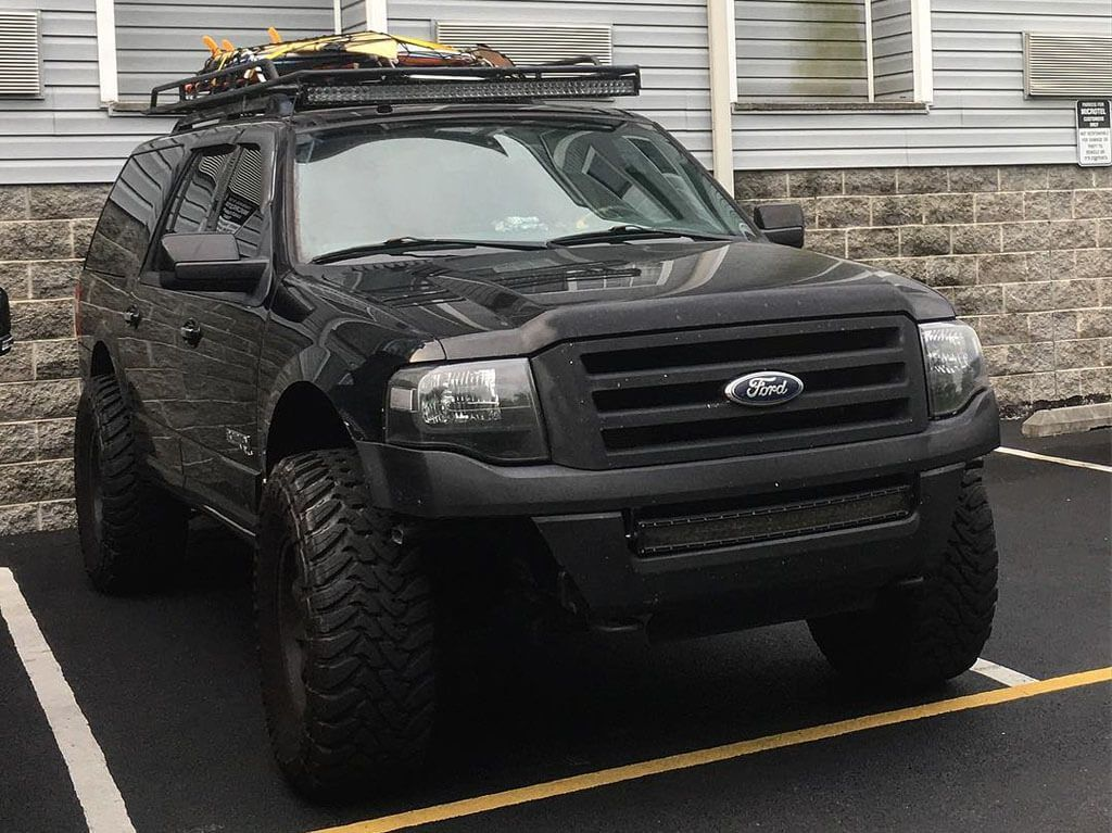 Lifted Ford Expedition With Offroad Mods Ford Expedition Ford Trucks Truck Accessories Ford