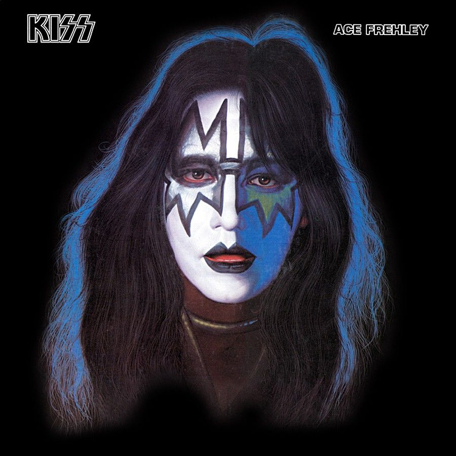 ace frehley solo album cover 1978 kiss pinterest ace frehley personal image and soloing. Black Bedroom Furniture Sets. Home Design Ideas
