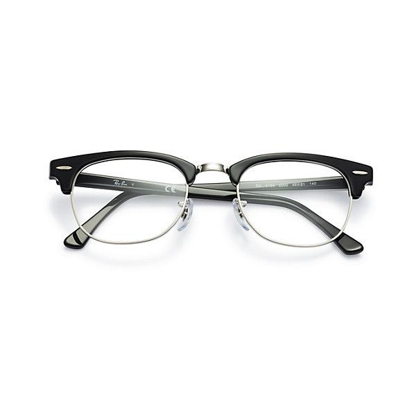c6189fd3e4 Ray-Ban Rb5154 Black ( 170) ❤ liked on Polyvore featuring accessories