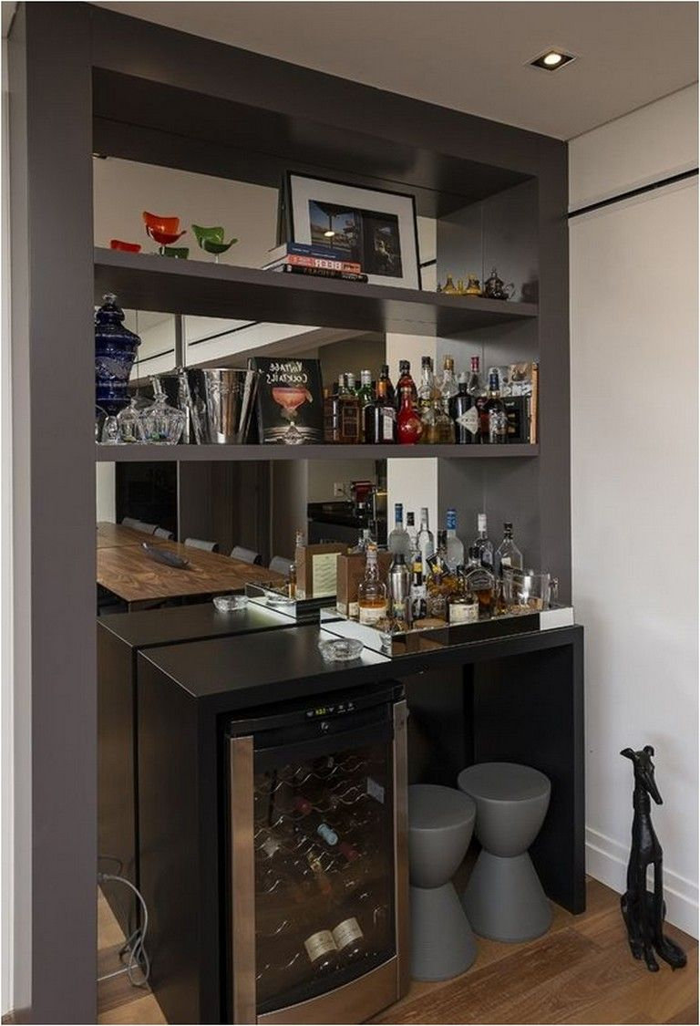 155 Mini Bar For Apartment Ideas That Can Create You Relax Apartmentdecor Apartmentideas Apartmentgardening
