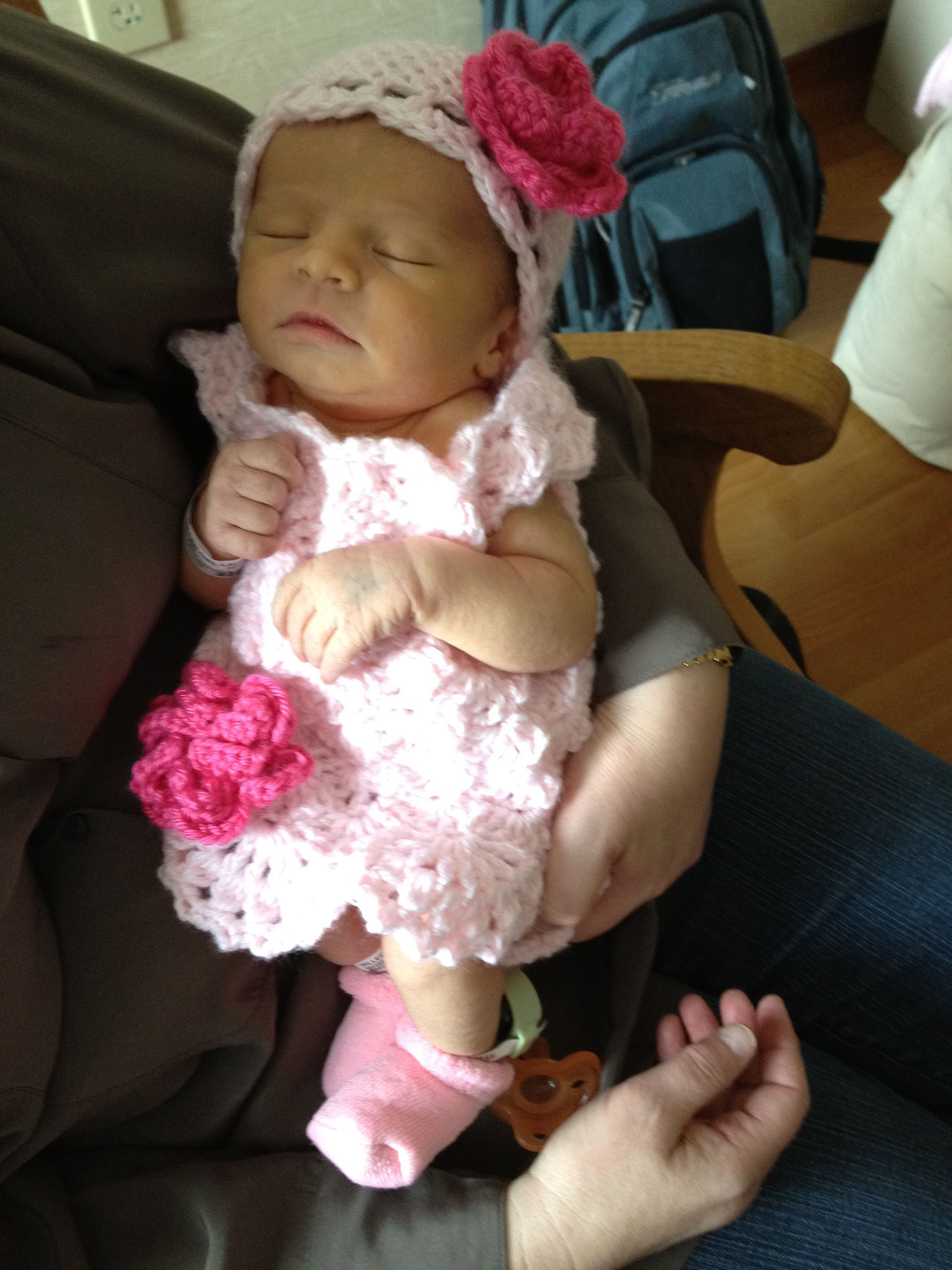 Little Miss Aria In Her Quot Going Home From The Hospital