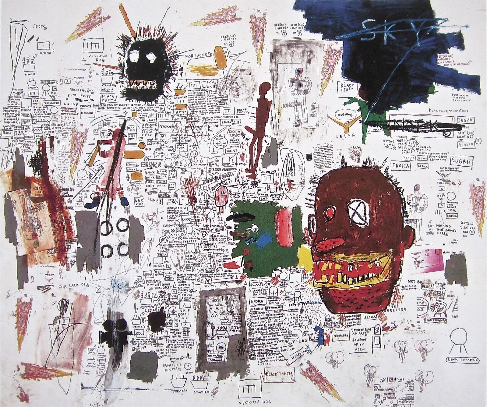 jean michel basquiat thesis statements A major highlight of the auction will be a capsule selection of nine works by jean-michel basquiat from the said in a statement follow artnet news on.