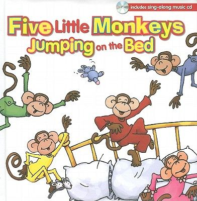 image little monkeys jumping on the bed - Google Search ...