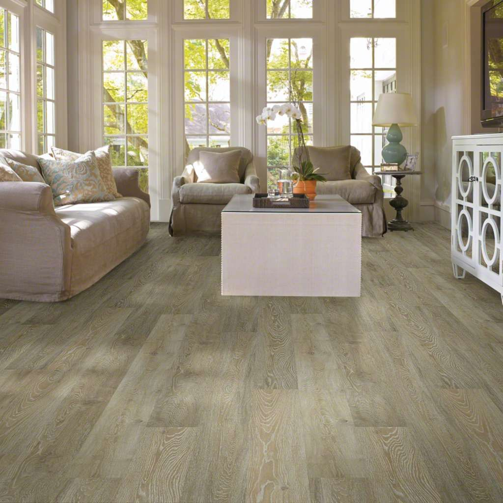 Matterhorn Lace Beige Oak Laminate flooring, Flooring