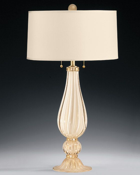 White and gold venetian glass table lamp dining do over white and gold venetian glass table lamp aloadofball Images