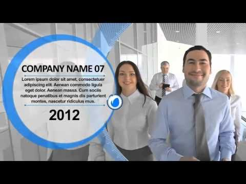 Clean Corporate Timeline After Effects Template Way To - After effects timeline template