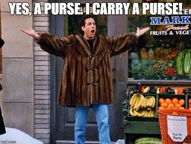 Image result for seinfeld european carry all