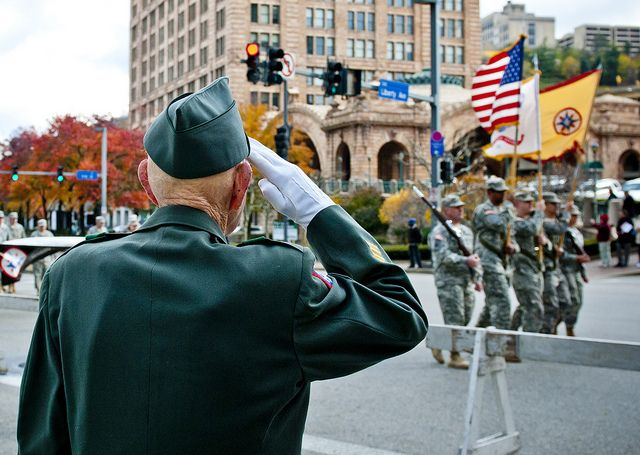 A Veteran S Salute Veterans Benefits Military Veterans Military Heroes
