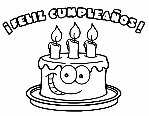 Carteles Y Tarjetas De Feliz Cumpleanos Para Colorear Happy Birthday Doodles Birthday Doodle Coloring Pages