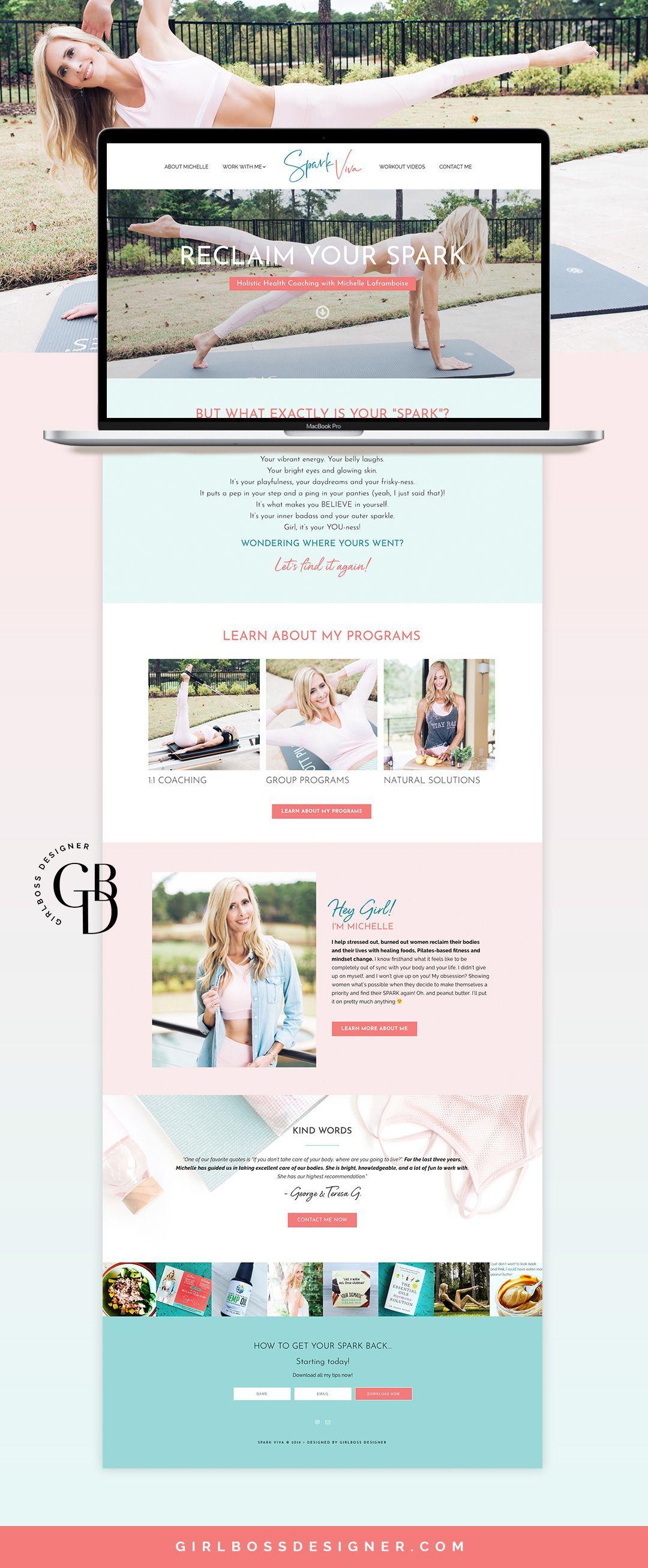#coachingwebsitedesign #femaleentrepreneurs #healthcoachbranding #womenentrepreneurs #fitnessbrandin...