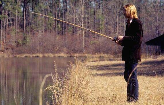Duane fishing