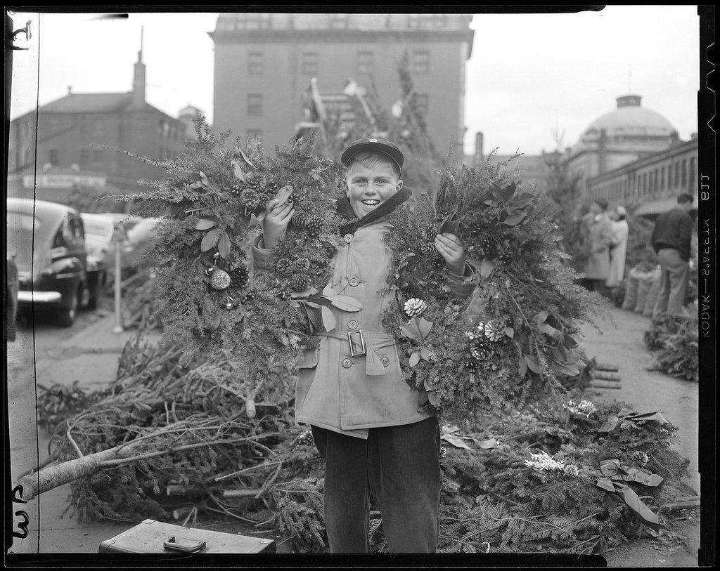 13 Vintage Photos Of Christmas In Boston Christmas in