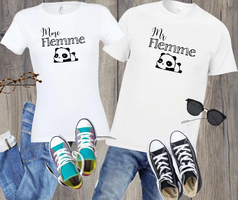 Tee Shirt Madame Flemme Tee Shir Tee Shirt Personnalise