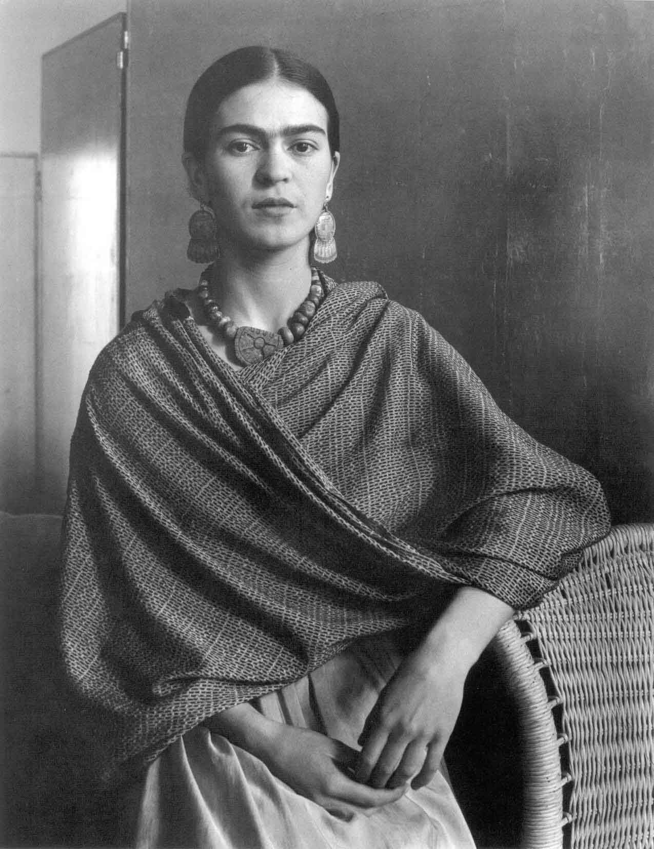 Portrait Of The Artist Frida Kahlo 1931 By Imogen Cunningham