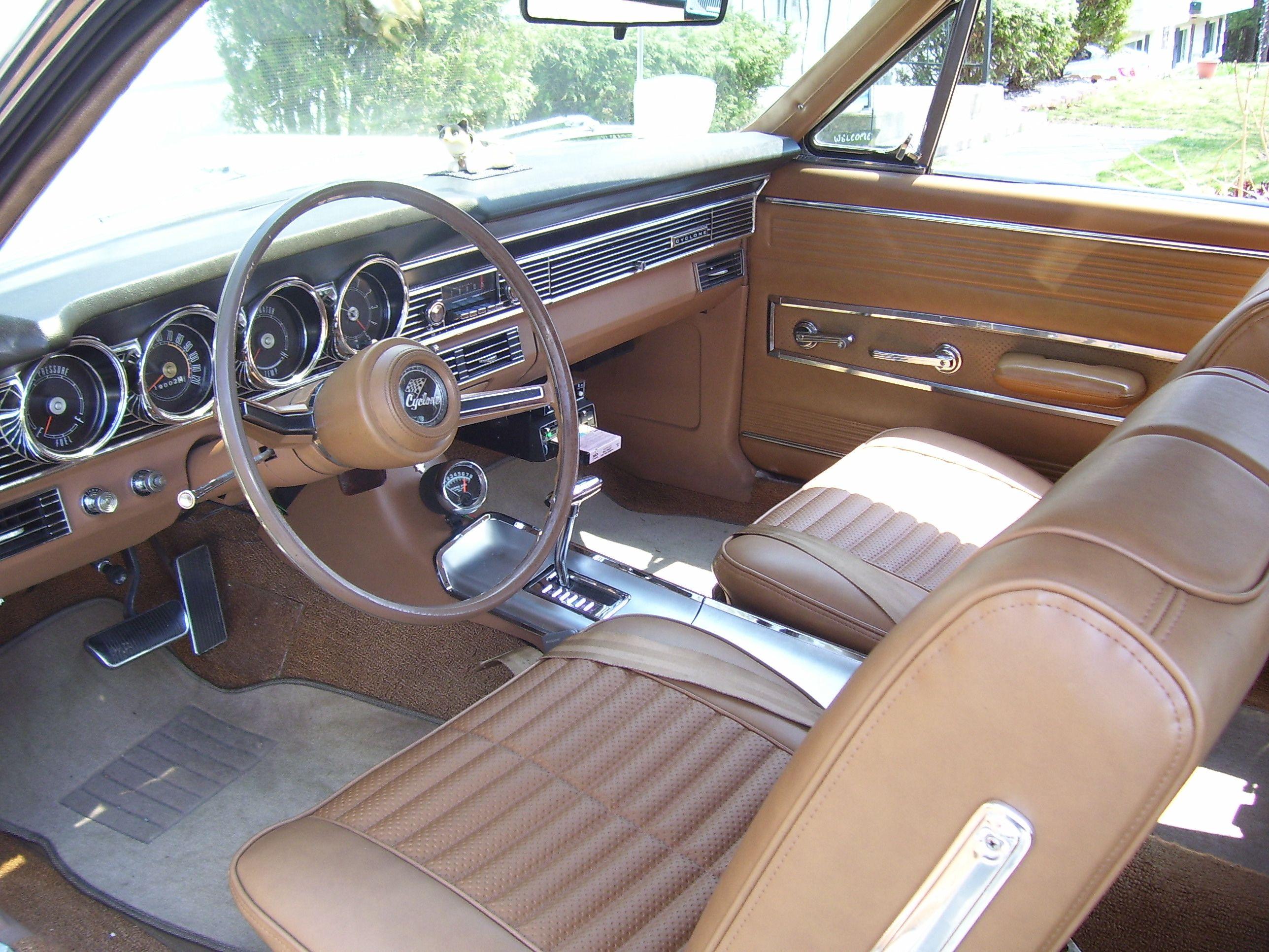 1967 Mercury Comet Cyclone Interior Comet Mercury Cars Car Rover