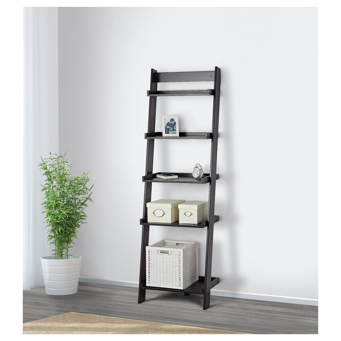 IKEA HOGHEM Black-Brown Wall shelf   Wall shelves, Living ...