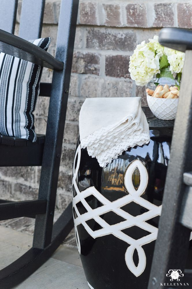 Spring In Full Swing A Southern Rocking Chair Front Porch