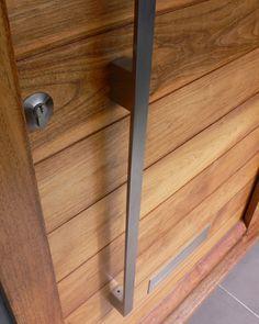 large rustic door handle for pivot door - Google Search   lake ...