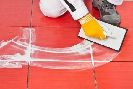 How To Tile Over A Vinyl Floor Doityourself Bathroom Ideas