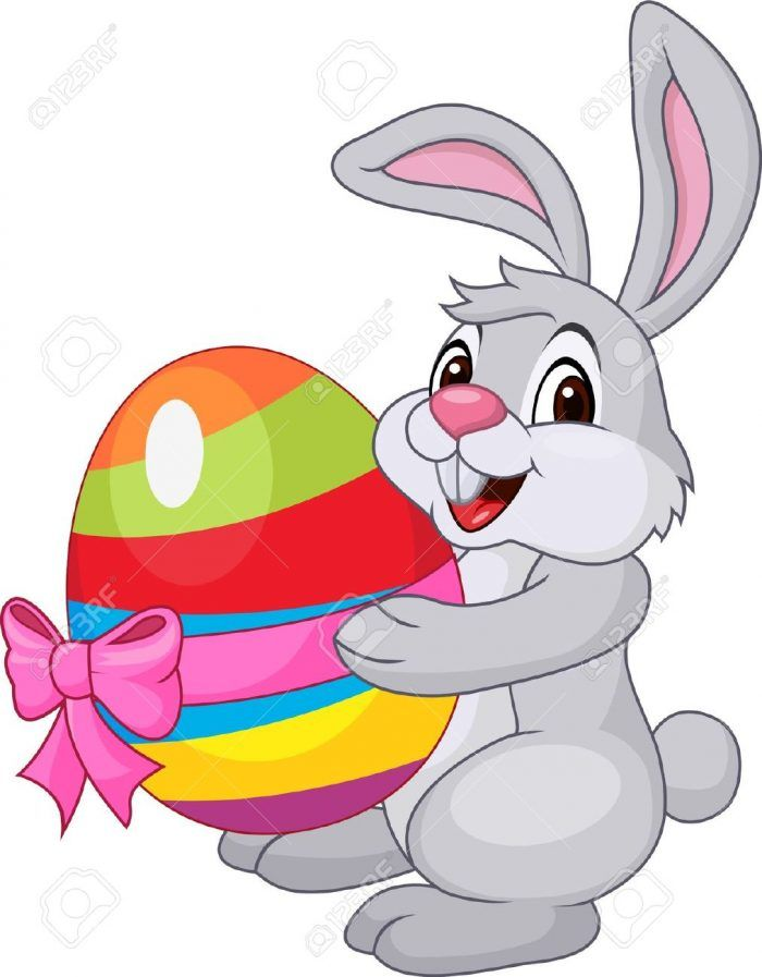 Easter bunny cartoon. Pictures eggs images