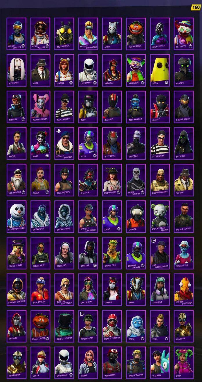 All Fortnite Skins Ever Released Item Shop Battle Pass Exclusives Fortnite Insider In 2020 Best Gaming Wallpapers Epic Games Fortnite Fortnite