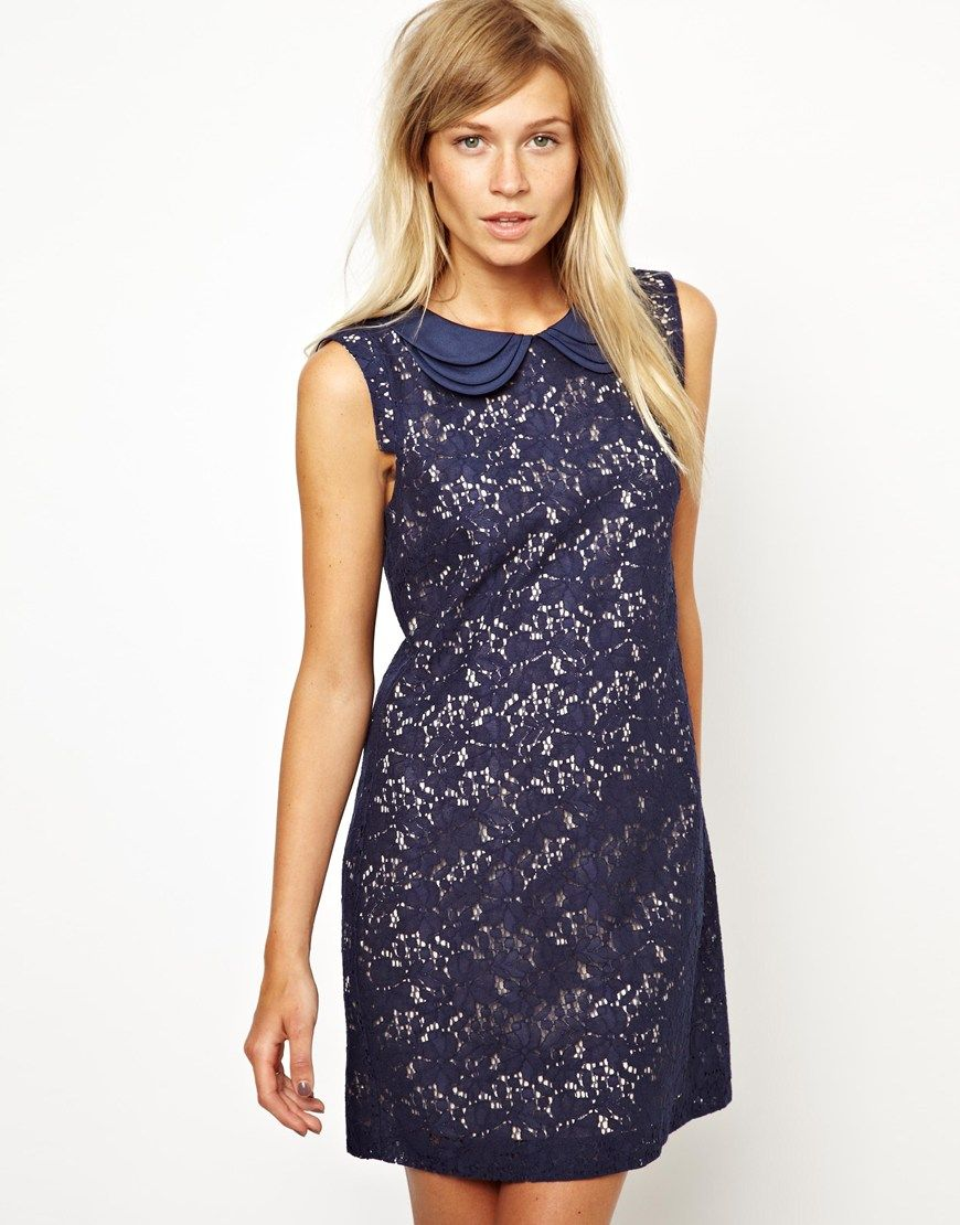 Oasis | Oasis Lace Shift Dress at ASOS | Style | Pinterest