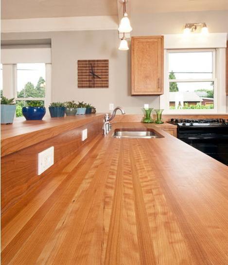 cocinas encimeras de madera para la cocina madrid