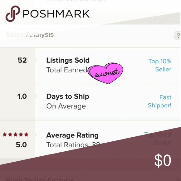 Thank you Poshers 💖 Shop with confidence! THANK YOU to all the poshers for taking the time to rate their purchases! It is appreciated!  I always do my best to ship my honest and quality items as soon as possible! Feel free to make offers. All are considered.😀 kate spade Other