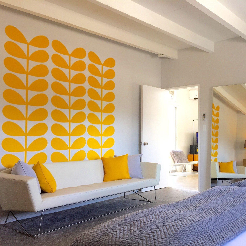 Retro Wall Decal, Mid Century Modern Wall Decor, Modern Nursery ...