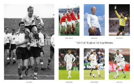 100 Club England 100 Cap Winners Updated With Wayne Rooney England England Players Bobby Charlton